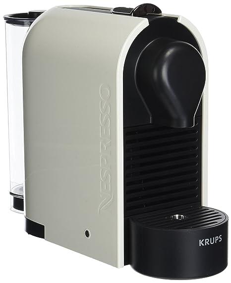 Krups YY1301 Nespresso U - Cafetera con 16 Cápsulas, color blanco