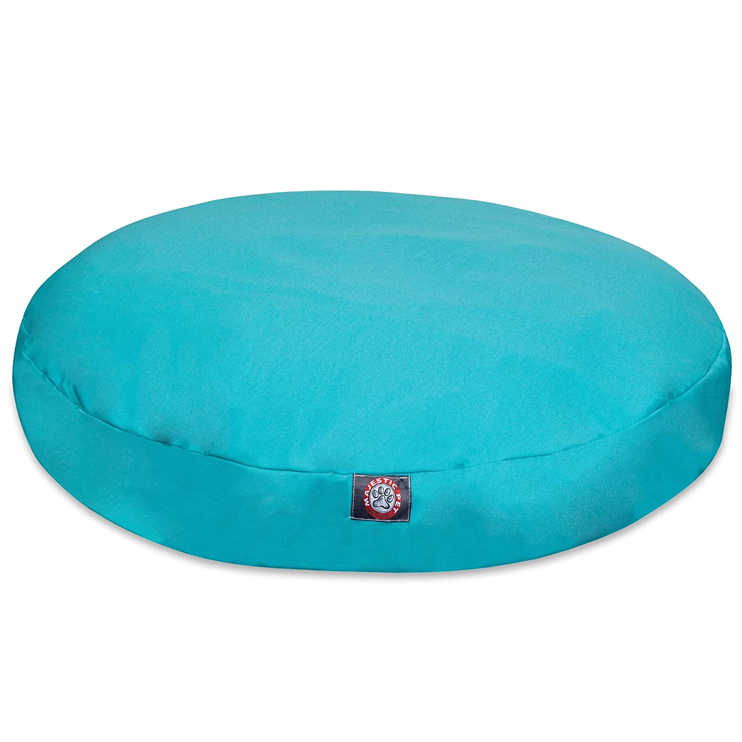 Majestic Pet Solid Teal Large Round Pet Bed