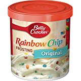 Betty Crocker Gluten Free Rainbow Chip Frosting, 16 oz (Pack of 8)