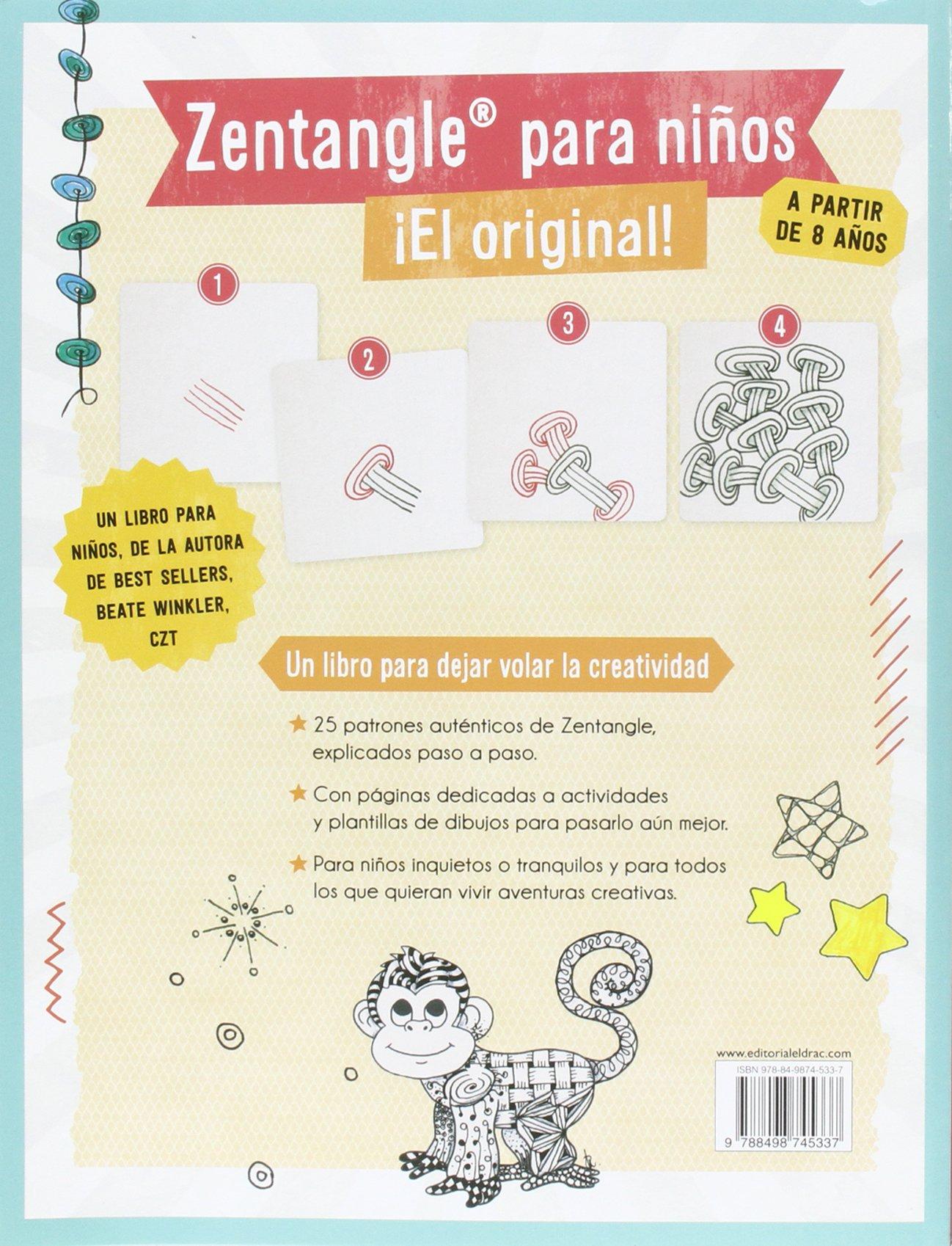 Zentangle Para Niños: Amazon.es: Beate Winkler, Anna Coll García: Libros