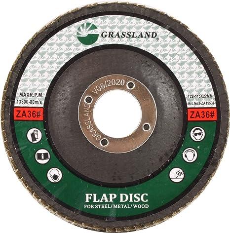 """100 Premium Flap Discs 4-1//2/"""" x 7//8/"""" Zircinum Grinding Wheels in 80 grit"""