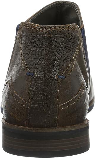 Bugatti 312173203200 Botas Chelsea para Hombre Marrón (braun