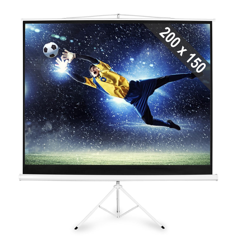 FrontStage Pantalla con trípode para proyector Cine en casa HDTV ...