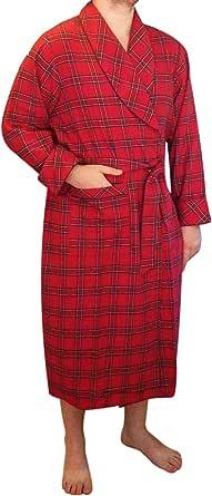 Lee Valley, Ireland Men's Flannel Robe