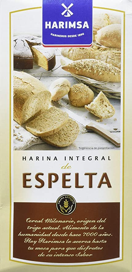 Harimsa - Harina Integral De Espelta - 500 gr: Amazon.es ...