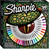 Sharpie 2016370 colorear para adultos – Rotuladores de colores (Pack de 30)