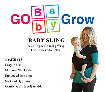 Amazon Com Baby Sling Multi Use Baby Carrier Nursing Cover