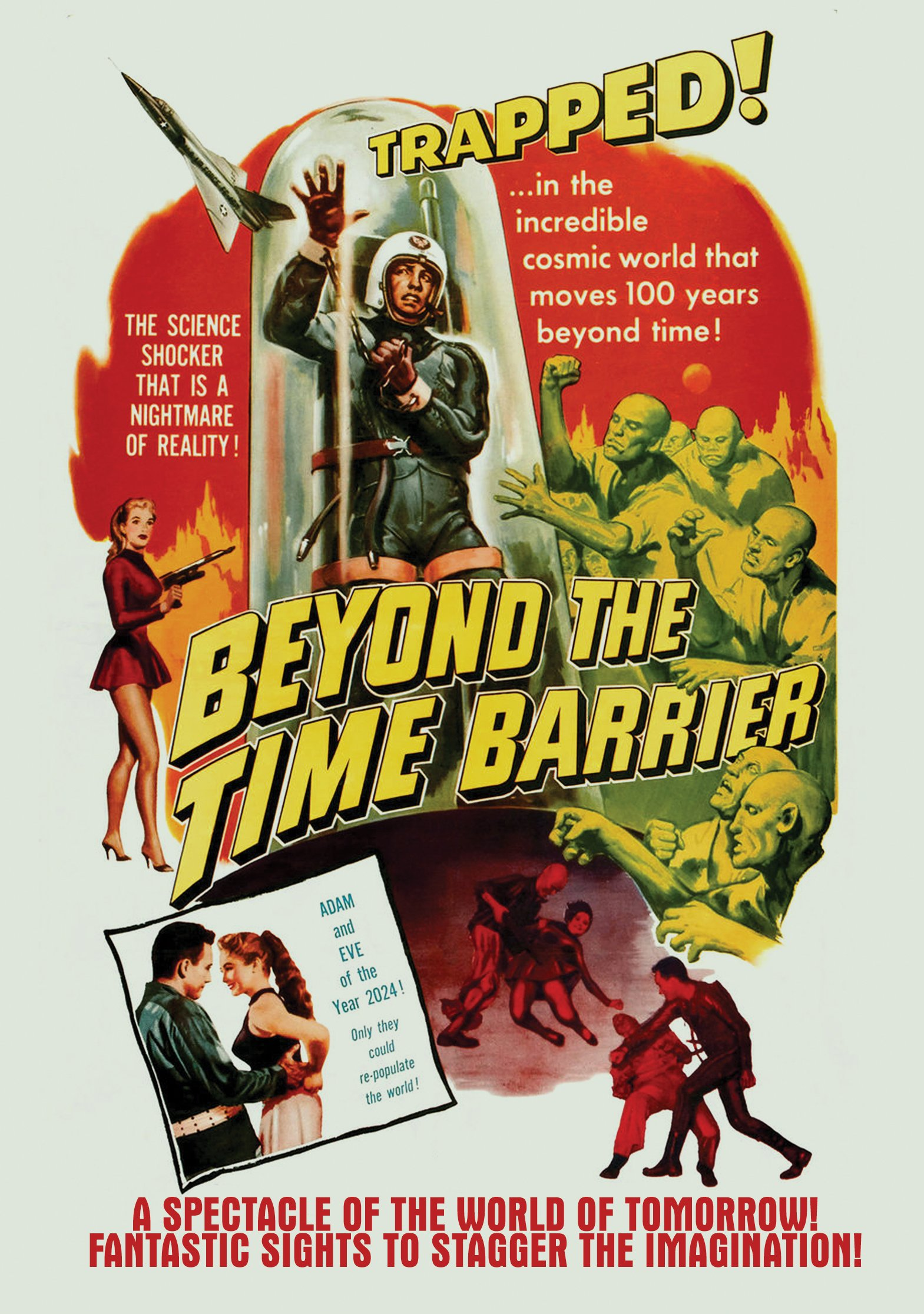DVD : Beyond The Time Barrier (DVD)