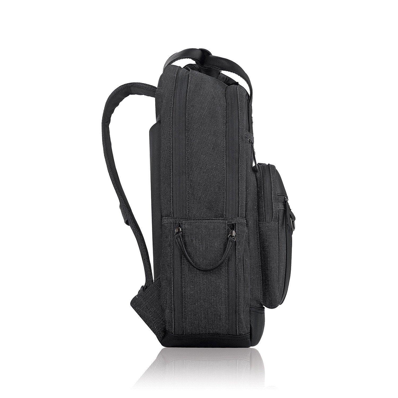 12 x 5 x 17 1//2 Black Bradford Backpack 15.6