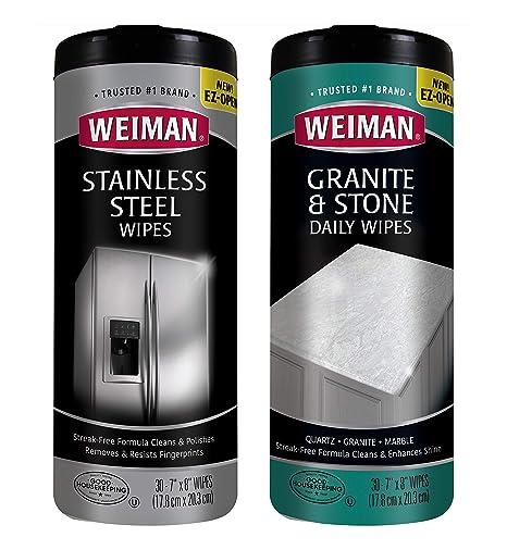 Amazon.com: Kit de limpieza de cocina – WEIMAN Acero ...