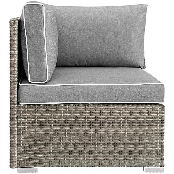 Amazon.com: Moderna y contemporánea silla de esquina para ...
