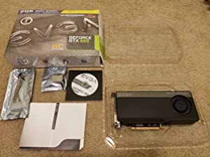 EVGA - GeForce GTX 660 2GB GDDR5 PCI Express 3.0 Graphics Card 02G-P4-3069-KB