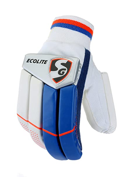 8db9c8b1953 Buy SG Ecolite Batting Gloves (Color May Vary) Online at Low Prices in India  - Amazon.in