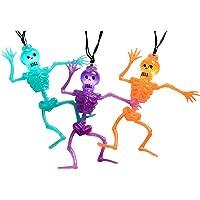 WeRChristmas 10 Esqueletos de acrílico con Luces LED