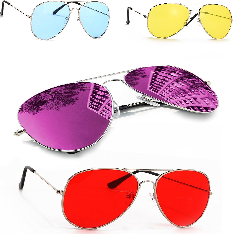 MFAZ Morefaz Ltd Occhiali da Sole Specchio per Bambini Stile Classic Bambini e Bambine 100/% UV400