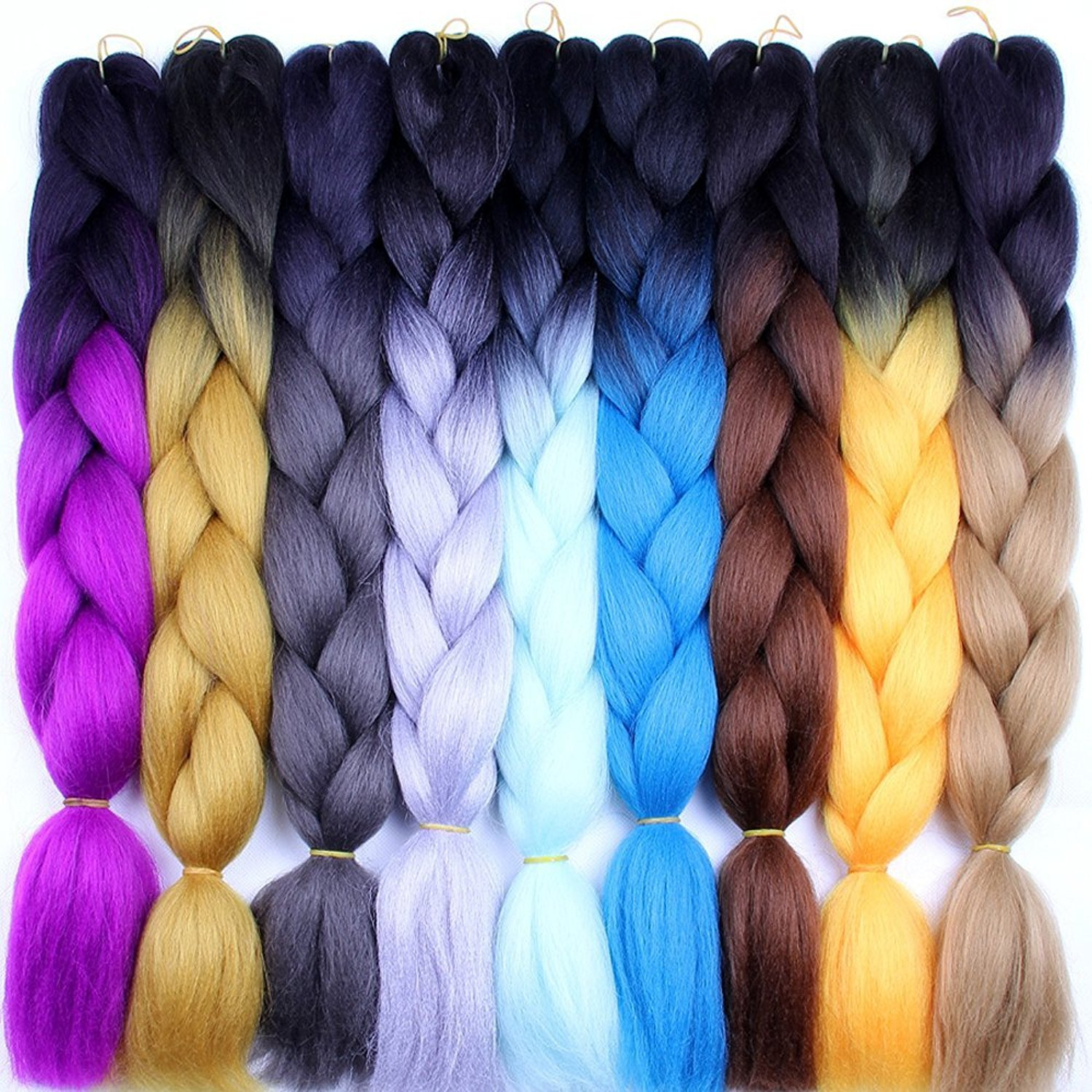 Dilla Beauty 3 pcs/set 24 inch Jumbo Braids calidad superior ...