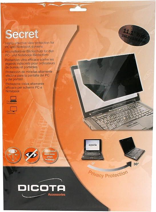 Dicota Secret 48 3 Cm Wide Blickschutz Für Den Pc Und Computer Zubehör