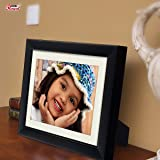 AJANTA ROYAL A-76A Classic Synthetic Wood Photo Frame (6x8-inches, Black)
