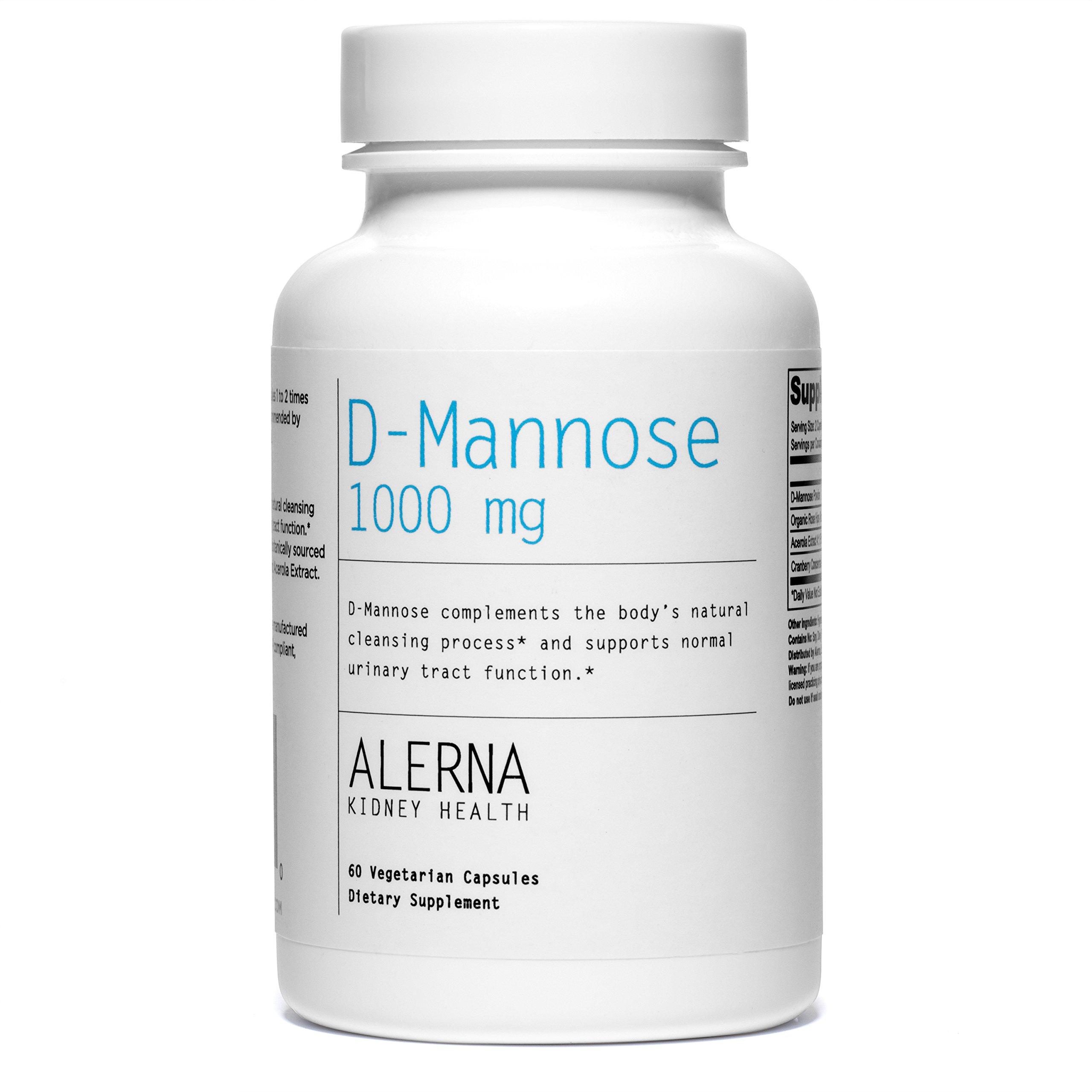 Alerna: D-Mannose 1000mg (1 Bottle)