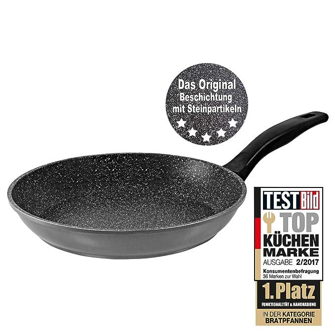 Stoneline® Bratpfanne anthrazit 28 cm: Amazon.de: Küche & Haushalt