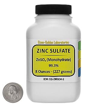 Amazon Com Zinc Sulfate Znso4 99 3 Acs Grade Powder 8 Oz In A