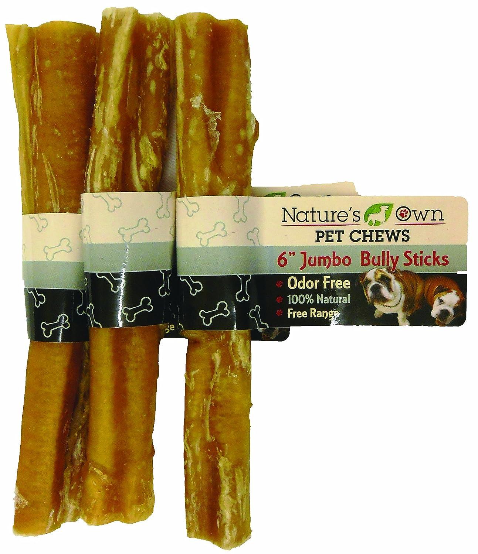 Best Buy Bones-Natures Own 90106 Bully Stick Dog Treat, Jumbo, 15cm