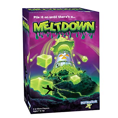 PlayMonster Meltdown Game -- Pile It On Until There's A...Meltdown!: Toys & Games