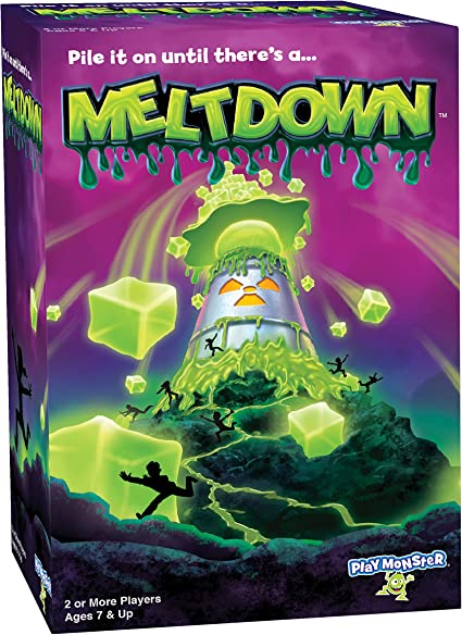 PlayMonster Meltdown Game -- Pile It On Until There's A...Meltdown!