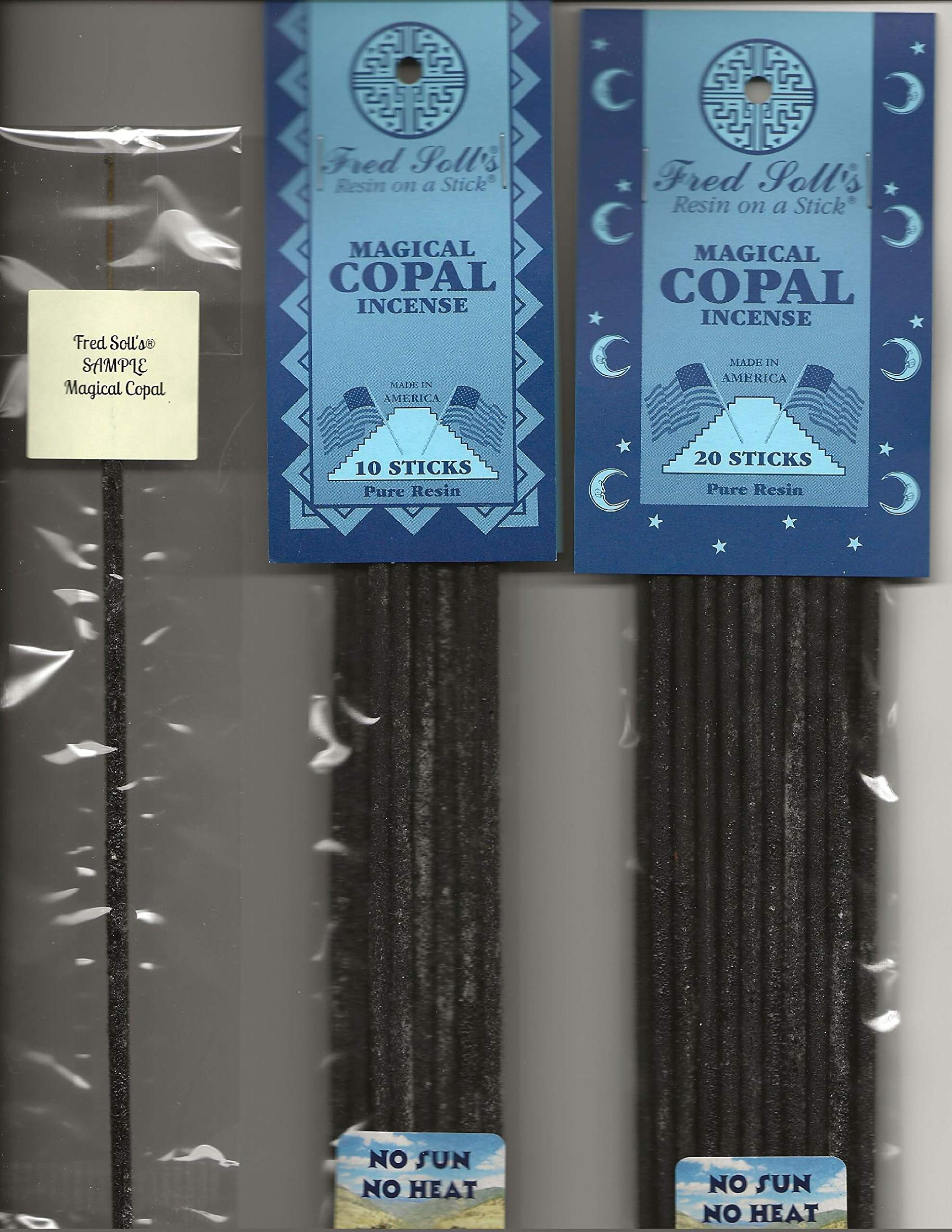 FRED SOLL'S Resin ON A Stick Magical Copal Incense (1)