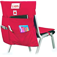 COMFY BUM Chair Bag, Cushioned Chair Pockets for Classroom, chairback seat Sacks, Back to School, Students, Kids, School…