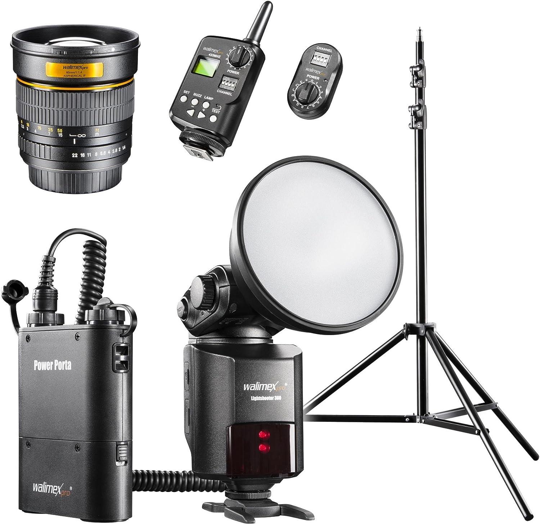 Walimex Pro Light Shooter 360 Porträt Set Für Nikon Kamera