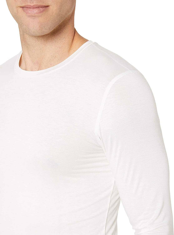 Amazon Essentials Heat Retention Long Sleeve Base Layer Shirt Homme