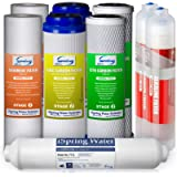 iSpring F9K 1-Year Replacement Supply Filter Cartridge Pack Set for 6-Stage Alkaline Mineral Reverse Osmosis RO Systems…