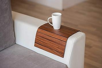 Amazon De Exotic Holz Sofa Arm Tablett Bildschirmschutzfolien