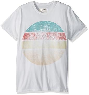 fe122c5d9 Vestige Men's Apparel Men's Western Sun Cotton Graphic T-Shirt, White, ...