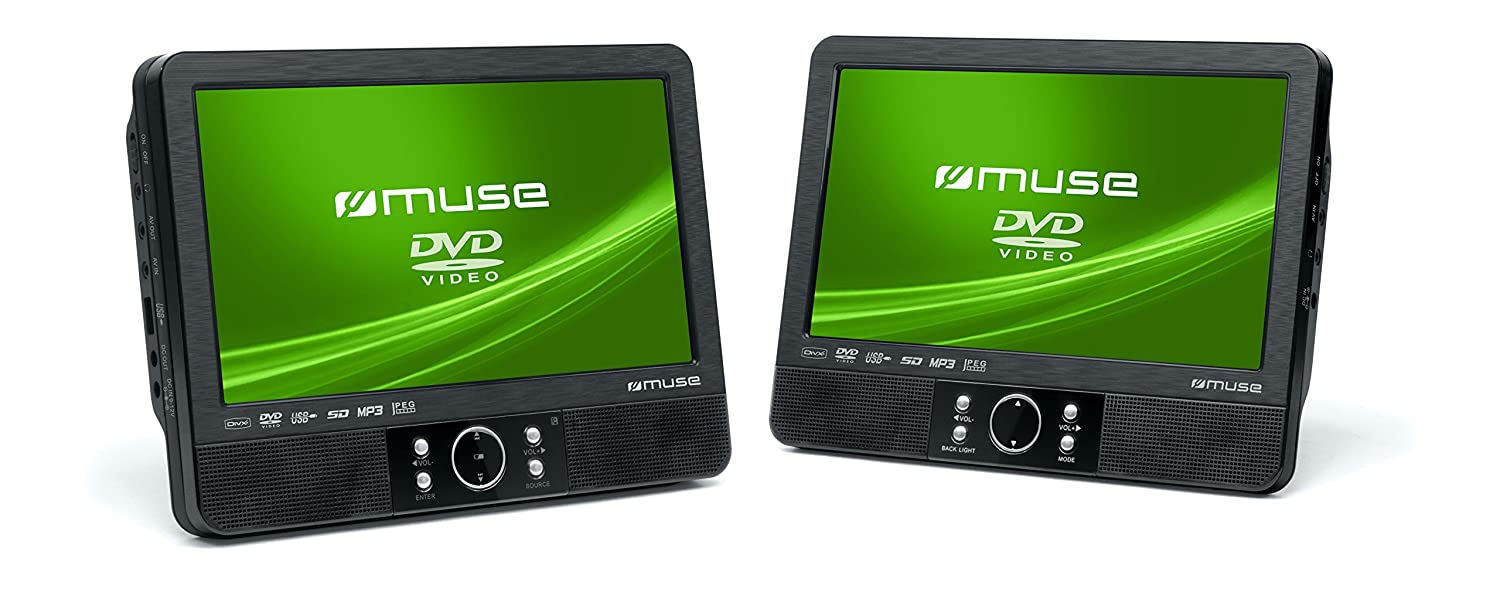 muse m 990 cvb tragbarer dvd player auto 22 9 cm 9 zoll. Black Bedroom Furniture Sets. Home Design Ideas