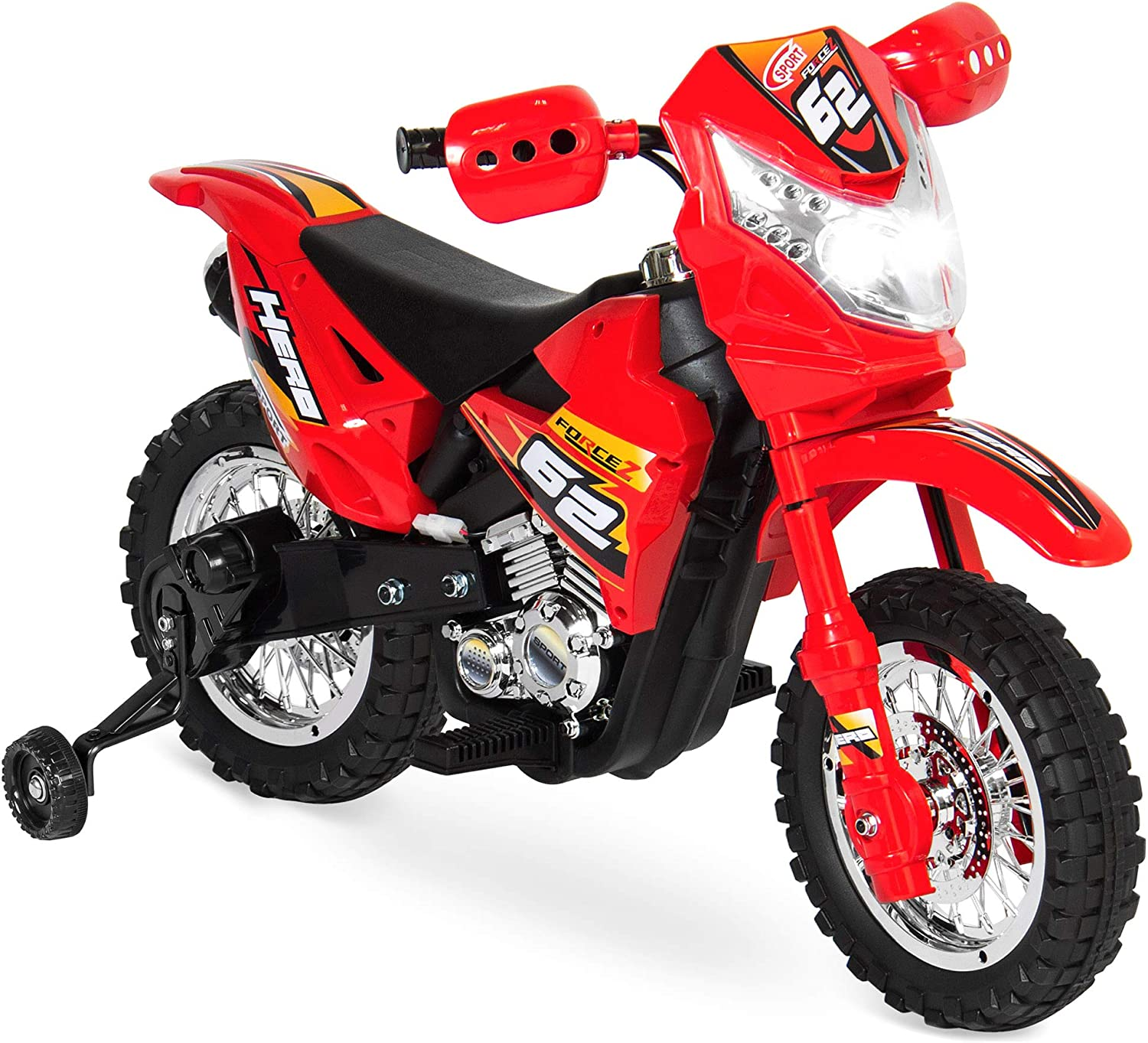 Amazon Com Best Choice Products Kids 6v Ride On Motorcycle 2mph