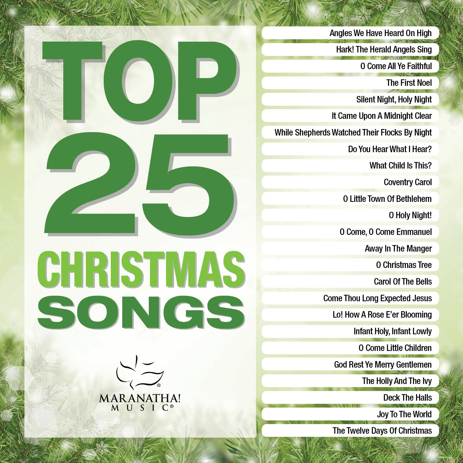 Maranatha! Music - Top 25 Christmas Songs [2 CD] - Amazon.com Music