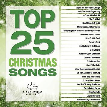 Maranatha Music Top 25 Christmas Songs 2 Cd Amazon Com Music