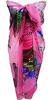 Central Chic Pareo da donna, da spiaggia, scialle copricostume da bagno, edizione limitata, in vari colori
