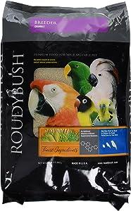 RoudyBush Breeder, Crumbles Bird Food, 25-Pound
