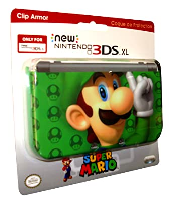 PDP - Cubierta Luigi, Color Verde (New Nintendo 3DS XL ...