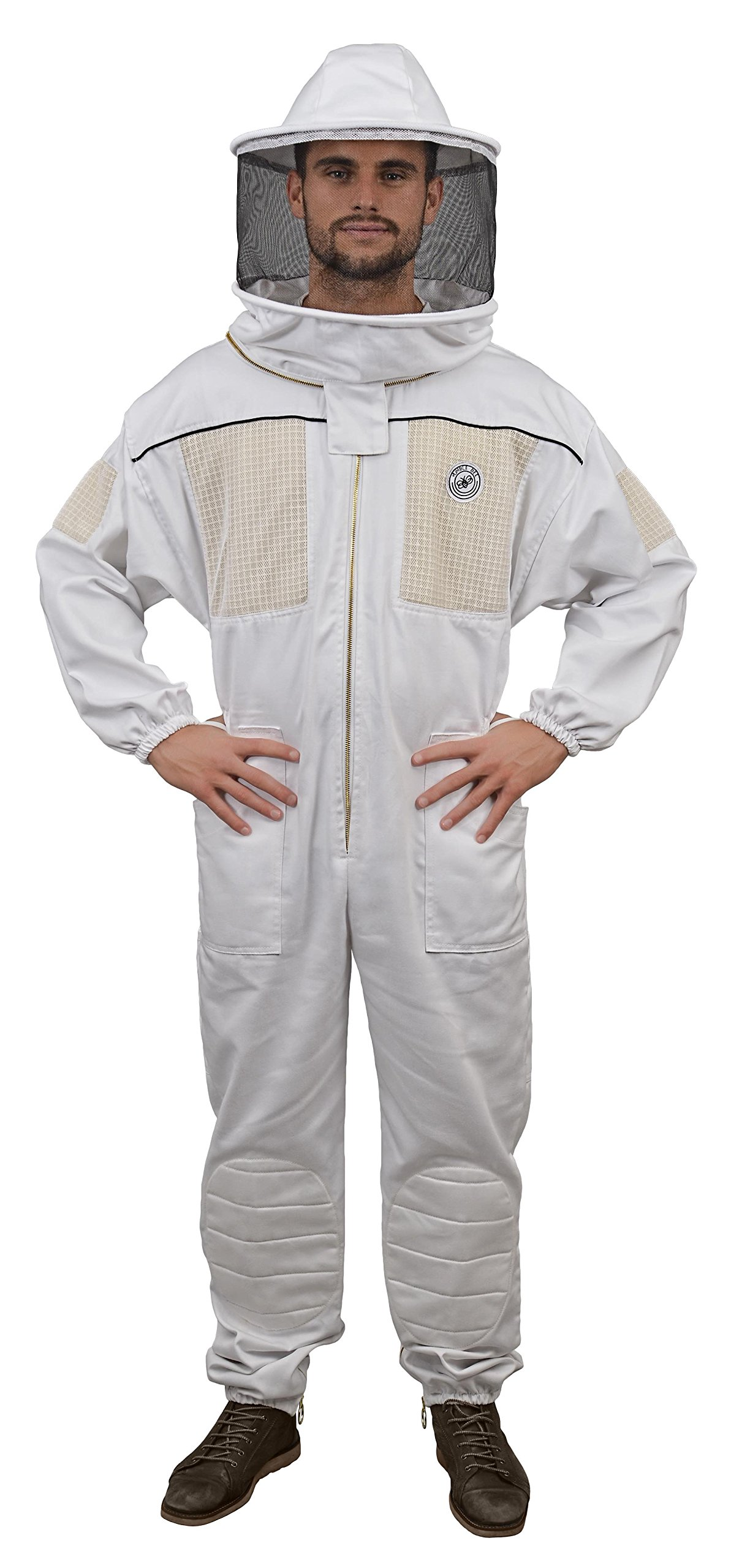 Humble Bee 430-XL Ventilated Beekeeping Suit with Round Veil (X Large)