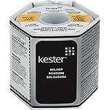 "Kester 24-6337-0027 Solder Roll, Core Size 66, 63/37 Alloy, 0.031"" Diameter"