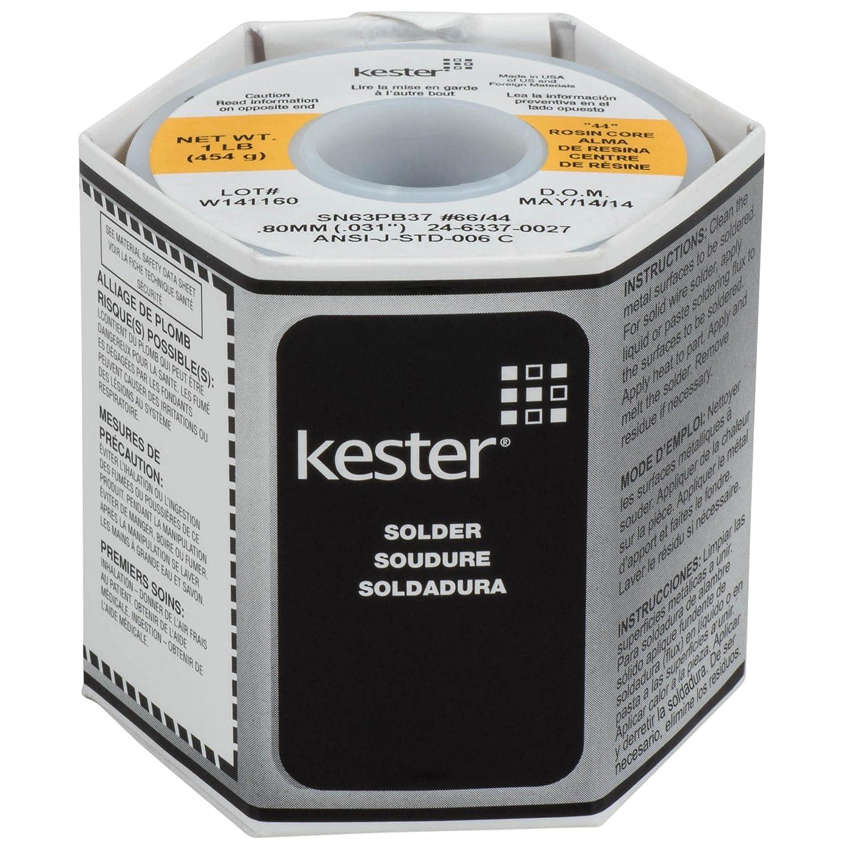 Kester 24 6337 0027 Solder Roll Core Size 66 63 37 Alloy 0.031 Diameter