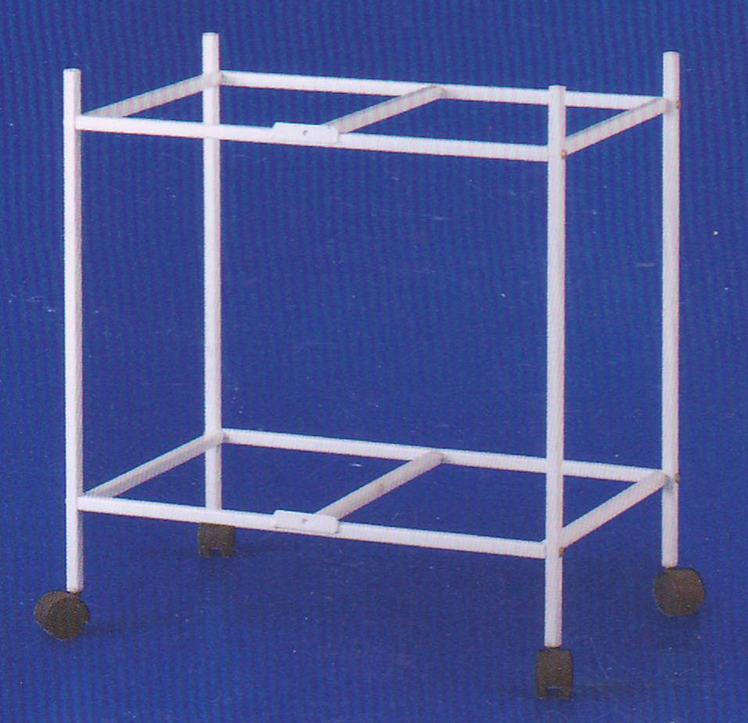 Mcage 2-Shelf Stand for Two of 24'' x 16'' x 16'' Breeding Flight Cages (White) by Mcage