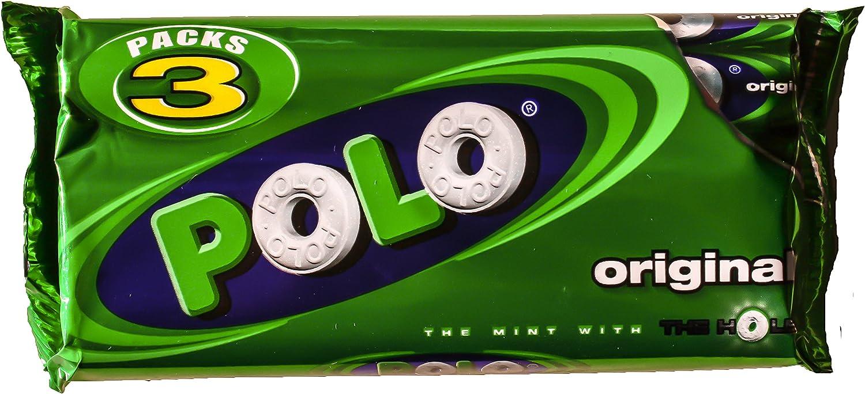 Nestlé Polo Original Caramelos Menta 3 tubos de 33,4 g: Amazon.es ...