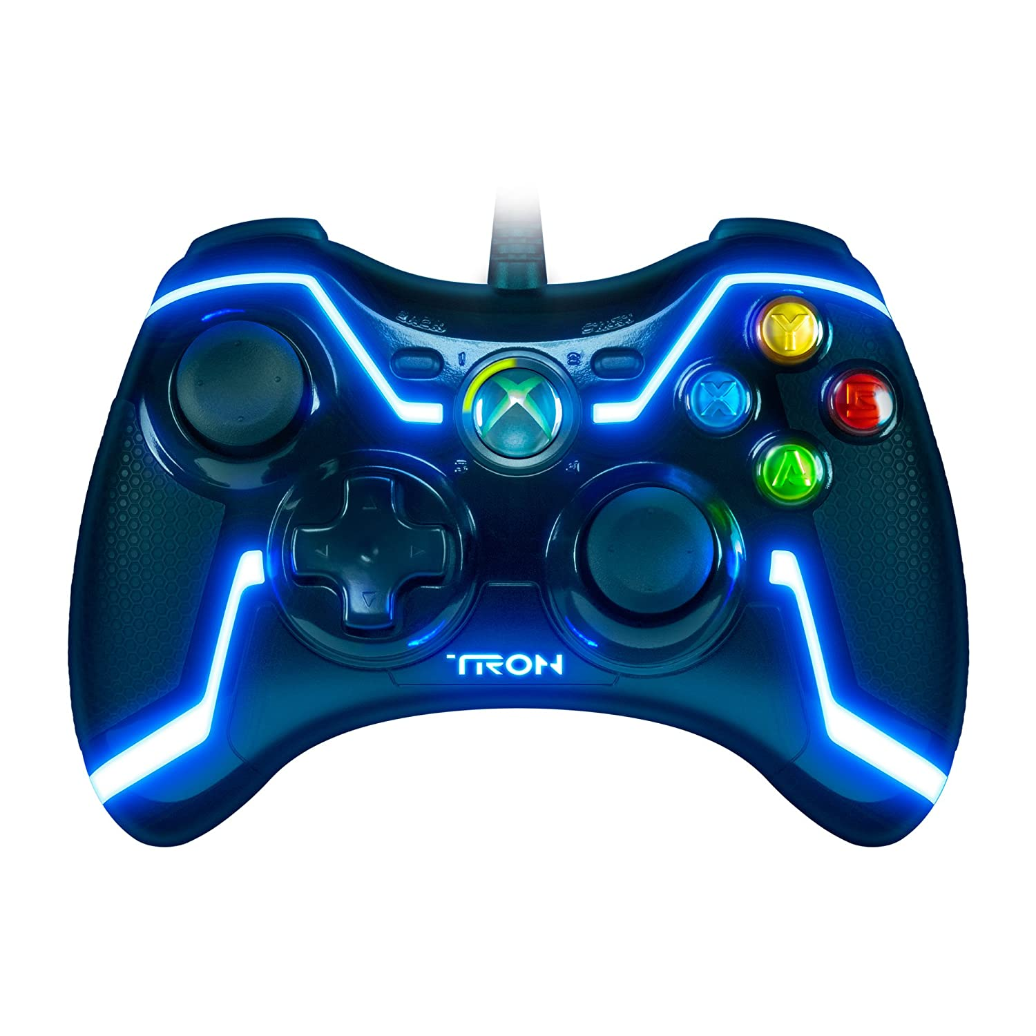 TRON Wired Controller for Xbox 360 Collector's Edition (colors may vary):  Amazon.co.uk: PC & Video Games