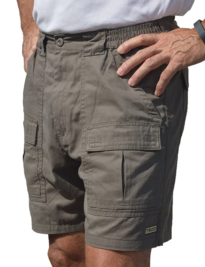 TROD Men's Cargo Short with 6 inch inseam | Amazon.com