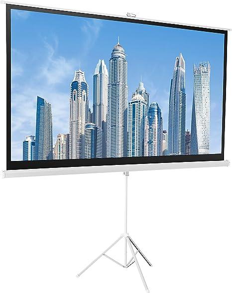 Amazon.com: AmazonBasics - Pantalla para proyector: Electronics